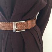 belt,scandalo al sole,leather belt,waist belt,braided belt,woven belt,TROUSERS BELT,47301