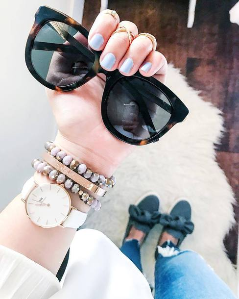 jewels sunglasses tumblr jewelry accessories Accessory watch daniel wellington bracelets