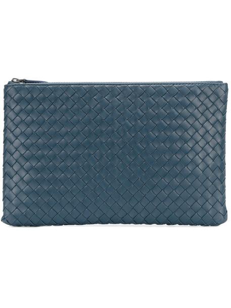 women pouch blue bag