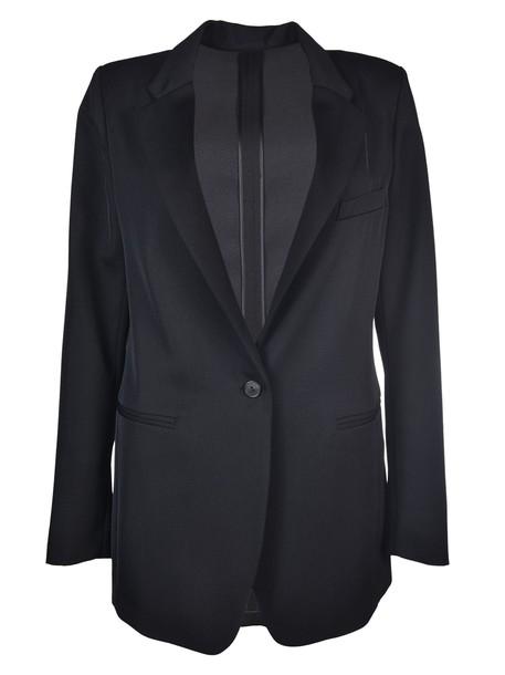 Forte Forte blazer boyfriend blazer boyfriend black jacket