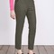 Mirabelle 7/8 trousers (fell green with navy spot)