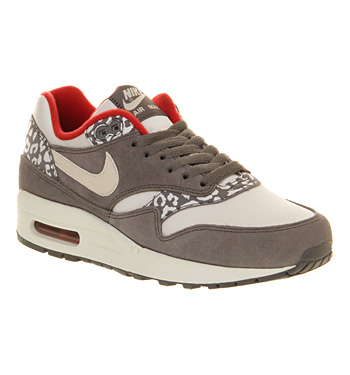 nike air max office. interesting nike nike air max 1 l white grey snow leopard shoes  trainers office  and air max