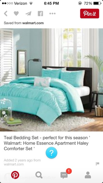 home accessory teal bed set teal bedding teal blue tiffany blue bed room set