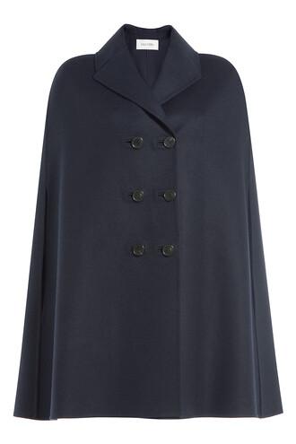 cape wool blue top