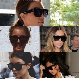 sunglasses kim kardashian black black sunglasses