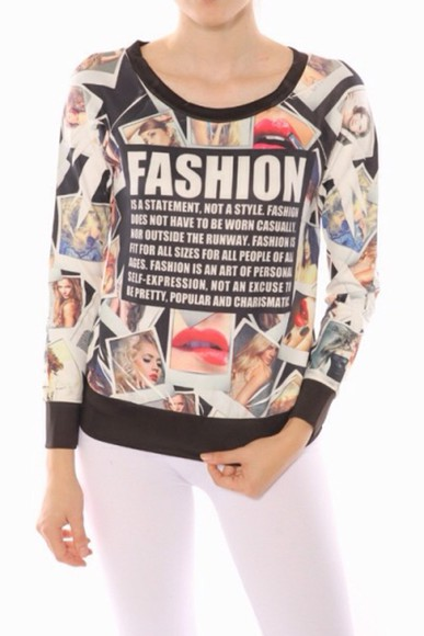 fashion style sweater