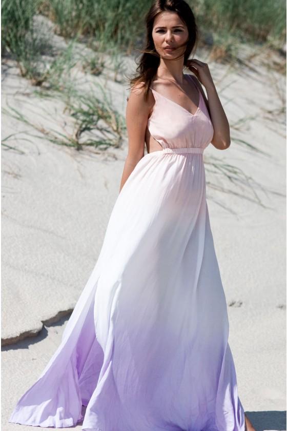 Ombre Maxi Dress | Haute Rogue