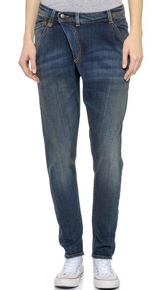 jeans vintage dark