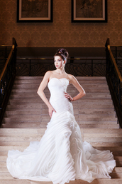 dress,wedding clothes,wedding dress,mermaid wedding dress,mermaid prom dress,white wedding dress,ivory wedding dress,embellished,sweetheart dress,sweetheart neckline