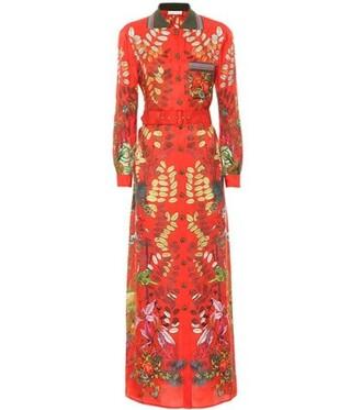 dress maxi dress maxi silk red