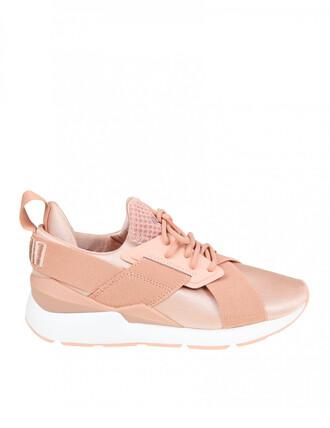 sneakers. sneakers pink neoprene shoes