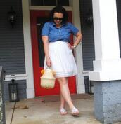 thefashionablewife,blogger,shirt,skirt,shoes,bag