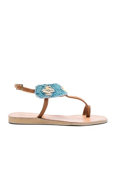 cocobelle Bali Sandal in blue