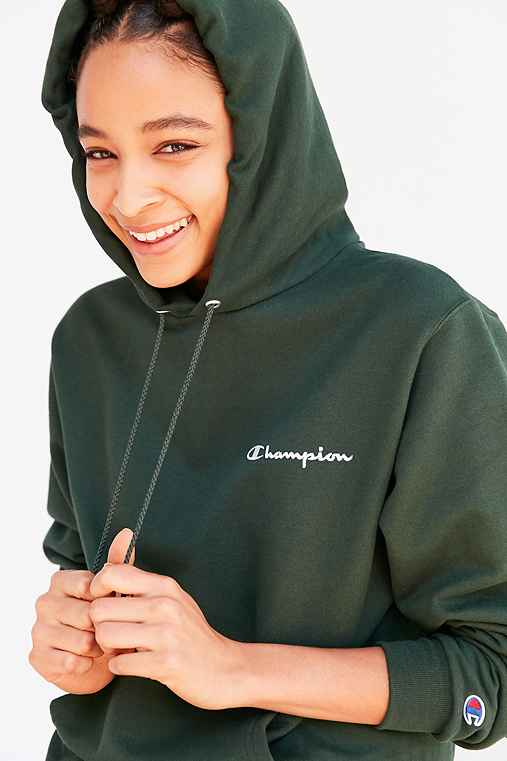 Champion UO Hunter Hoodie Sweatshirt - Urban Outfitters 1215dd537559