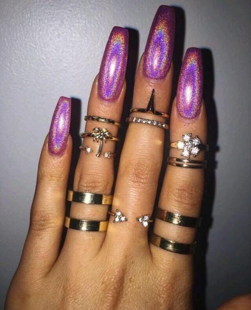 Nail Polish, Rings And Tings, Ring, Ring, Silver Ring
