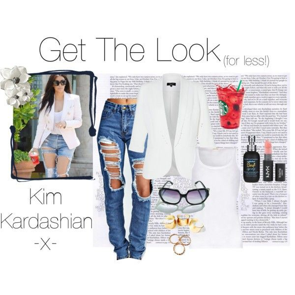 jewels trendy ring kim kardashian sunglasses jeans