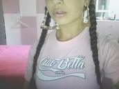 t-shirt,ciao bella,pink,barbie,coca cola,coca cola t-shirt,ciao,bella,thug life,streetwear,sexy,beautiful,style