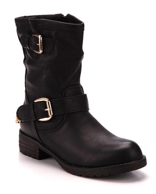 Klassische Stiefeletten in schwarz für nur 34,99 EUR kaufen (2580042)