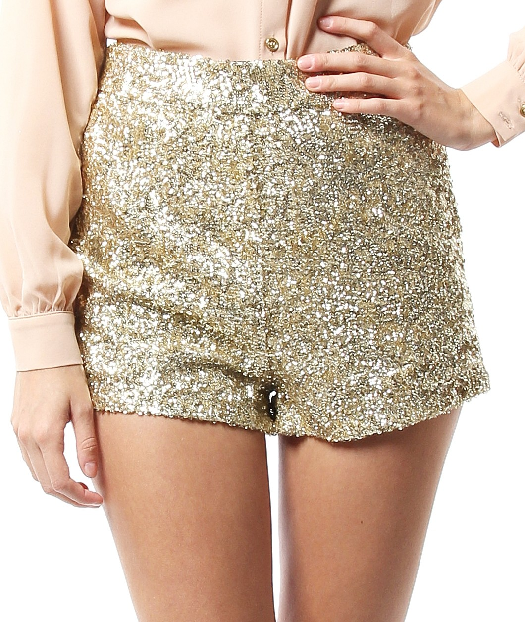 We've done the shopping for you. Find the best prices for gold sequin shorts on Shop more.
