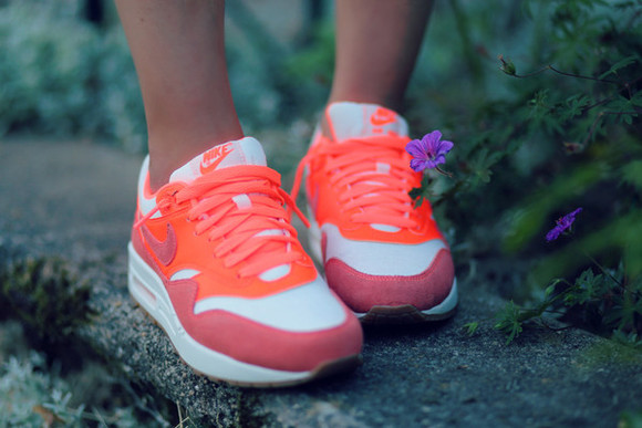 shoes mango nike air max orange red