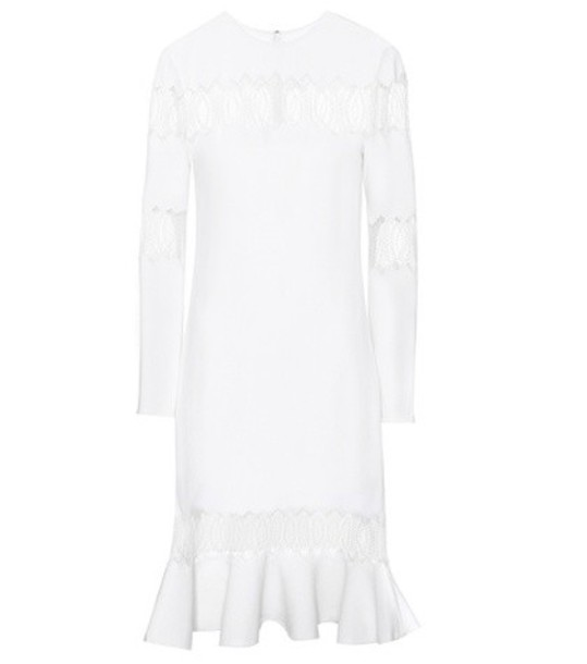 Huishan Zhang dress wool white
