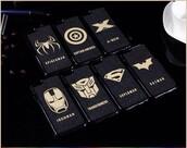 phone cover,spiderman,transformer,x-men,batman,captain america,iron man,superman