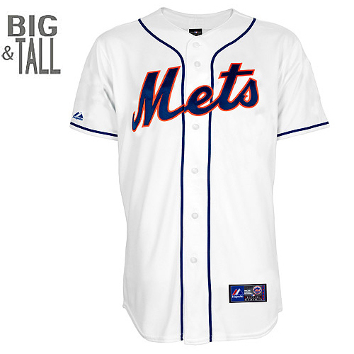 New York Mets  Replica BIG & TALL Home Jersey - MLB.com Shop