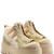 Platform Sneaker Boots with Silk
