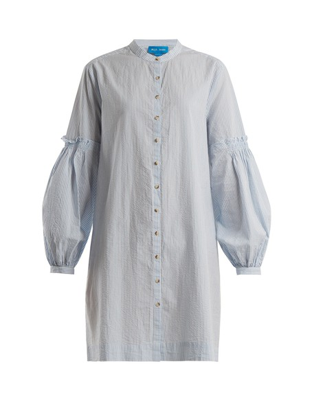 M.i.h Jeans shirtdress cotton blue dress