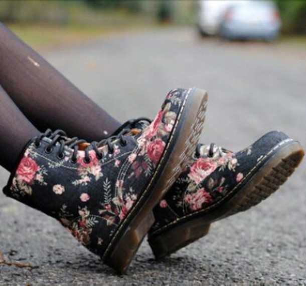 Fashion hot flower boots