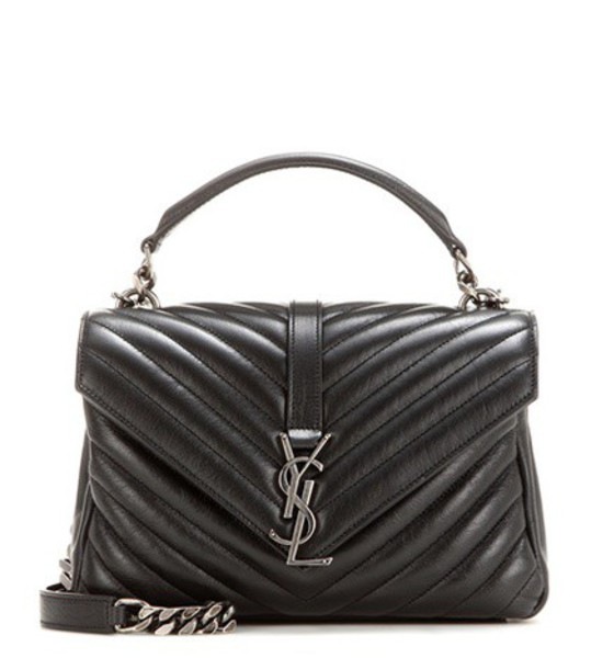 Saint Laurent classic quilted bag shoulder bag leather black