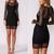 Rebel Net Cocktail Dress – Dream Closet Couture