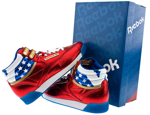 Baskets reebok freestyle wonder woman neuves