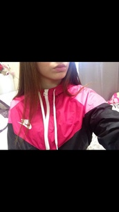 jacket,nike jacket,pink nike,nike windbreaker,nike windrunner,sweater,nike hoodie,nike sweater,pink sweater,hot pink sweater,white sweater,girl,athletic,hoodie,black sweat shirt,nike athletic,nike,pink and black,pink,windbreaker,adidaswindbreaker,blouse,coat,pink nike windbreaker,pink black,nike women windrunner  size small ll,black,nike windbreaker pink and black,white,nike pink,pink jacket,girly,dope,women nike,nike pink windbreaker