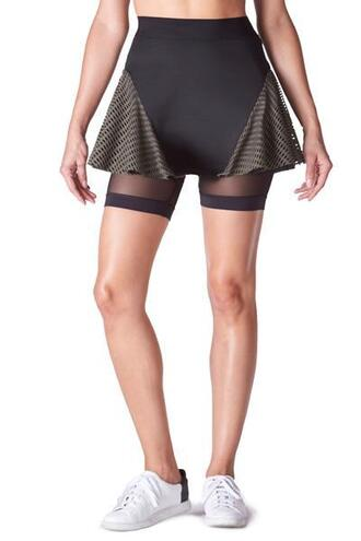 skirt activewear bottoms black green michi bikiniluxe