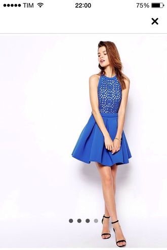 dress blue dress backless dress cute dress cut-out dress asos asos dress asos dresses