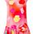 Boutique Moschino - floral print sleeveless blouse - women - Silk - 46, Pink/Purple, Silk