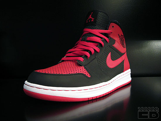 Air Jordan Alpha 1 Black/Varsity Red-White @ ExtraButter | KicksOnFire.com