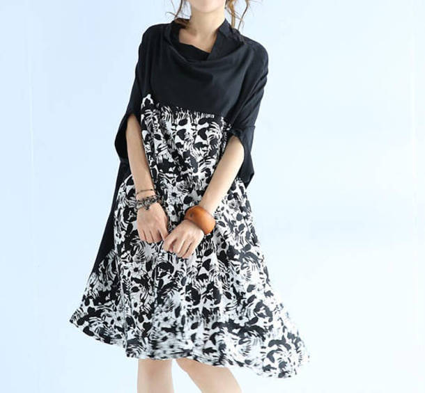 dress black dress sundress
