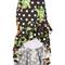 Pandora printed ruffle skirt