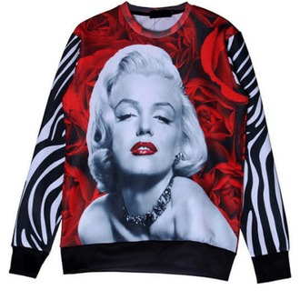 top marilyn monroe shirt