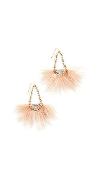 Sandy Hyun earrings pink jewels