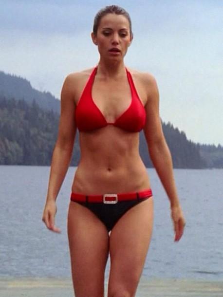 Swimwear Smallville Yellow Lois Lane Bikini Top