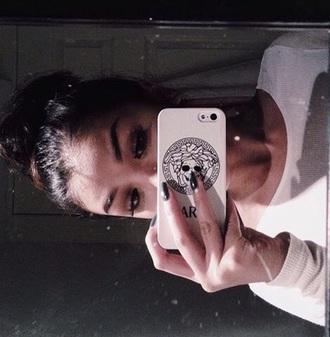 phone cover white koleen diaz xxoleeny versace skull