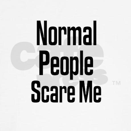 Normal People Scare Me Sweats by outfitter