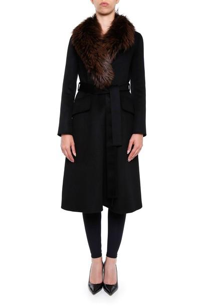 Prada coat fur