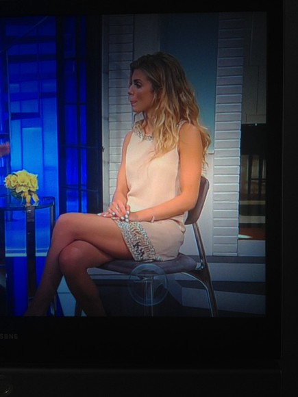 annalynne mccord dress access hollywood annalynne peach dress pink dress sequin dress
