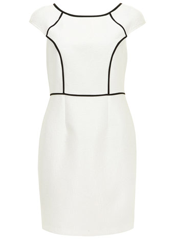 Black and white pencil dress - View All Dresses - Dresses - Dorothy Perkins
