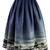Night Skyline of London Print Midi Skirt - Retro, Indie and Unique Fashion