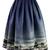 Night Skyline of London Print Midi Skirt - Retro, Indie and Unique Fashion